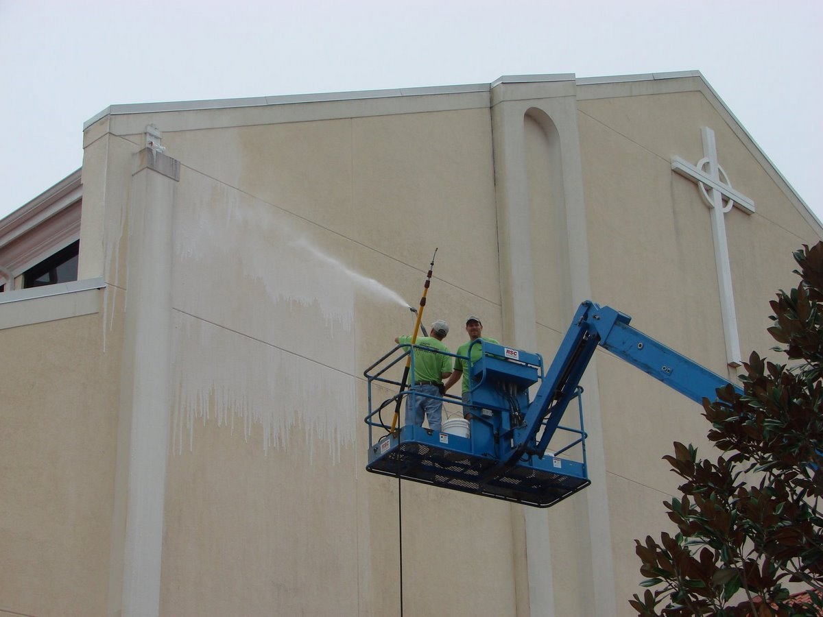 Commercial Building Washing Integrity Pressure Cleaning Plus
